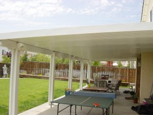Awnings Porch And Patio Aluminum Many Colors Custom Sizes Company Installed